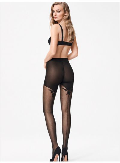 Wolford Helena Backseam Tights