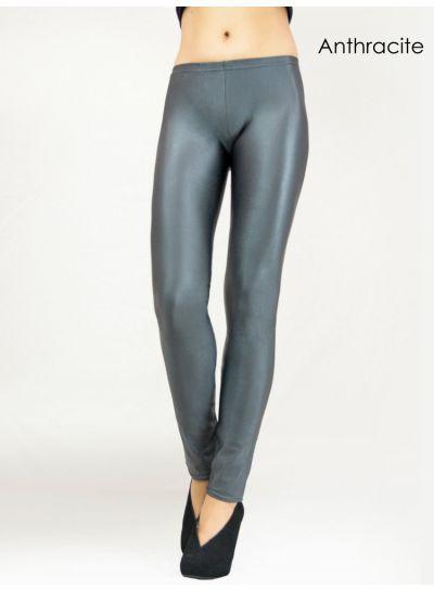 Cecilia de Rafael Super High Shine Leggings - Hosiery Outlet