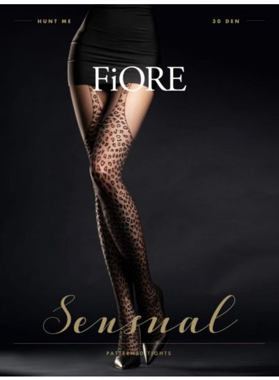 Fiore Hunt Me Mock Suspender Tights