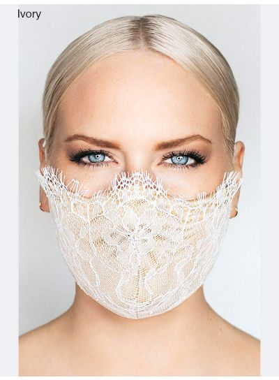 Katie May Provocateur Lace Face Mask