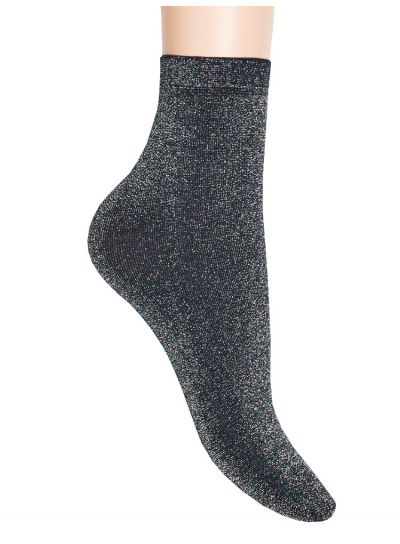 Jonathan Multi Coloured Lurex Glitter Sock