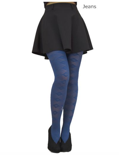 Cecilia De Rafael Kansas Patterned Tights - Hosiery Outlet