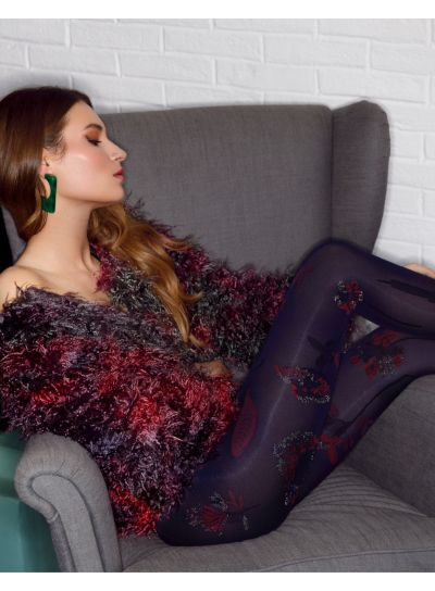 Pierre Mantoux Kendall Patterned Tights