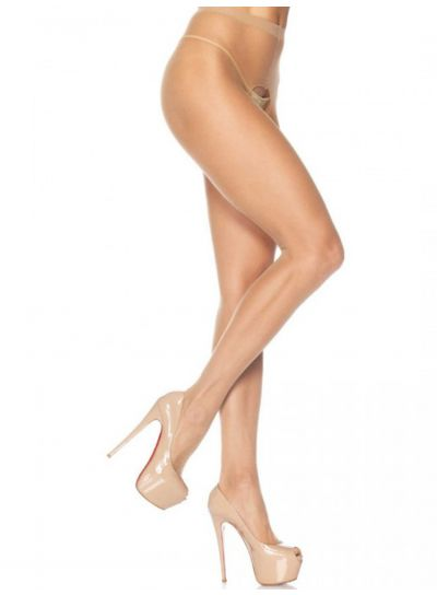 Leg Avenue Crotchless Sheer Tights