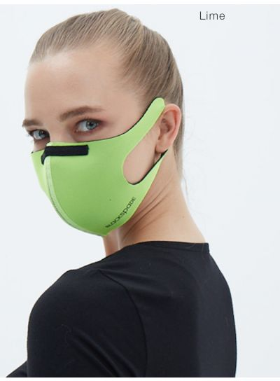 Blackspade 3D Spacer Ladies Face Mask