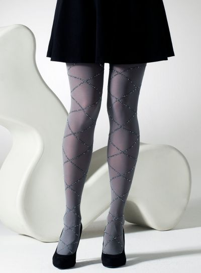 Gipsy Lurex Diamond Tights