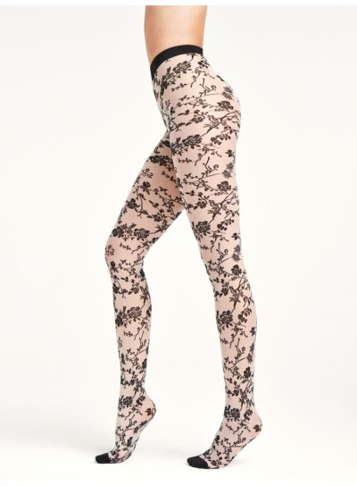 Wolford Marie Patterned Tights
