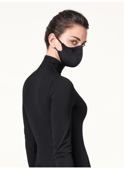 Wolford Care Mask In Black