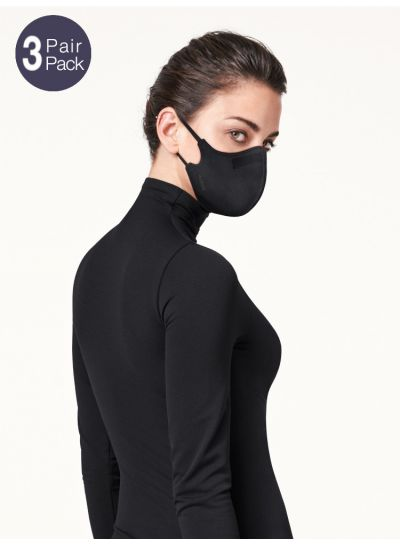 Wolford Care Face Mask 3 Pair Pack