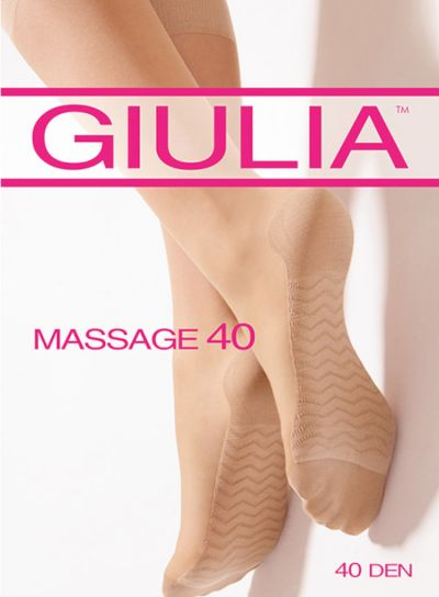 Giulia 40 Massage Knee Highs
