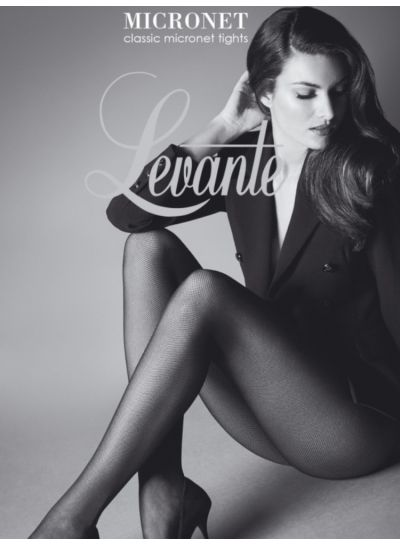 Levante Micronet Fishnet Tights