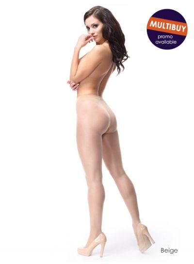 Miss-O-40-Denier-Open-Crotch-Pantyhose-Beige