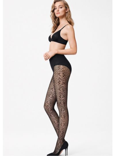 Wolford Nancy Patterned Net Tights