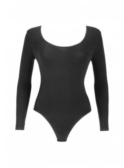 Oroblu Dolce Vita Round Neck Long Sleeve Bodysuit