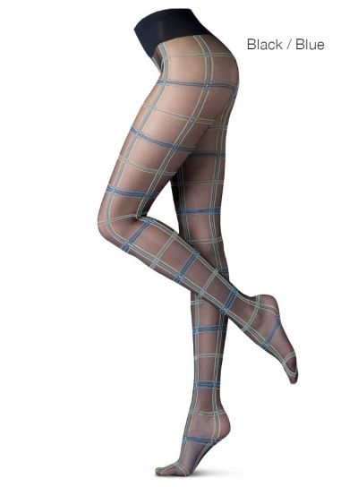 Oroblu Scot Tartan Patterned Tights