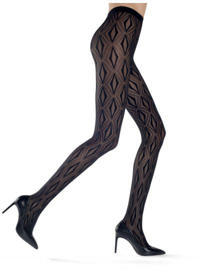 Oroblu Stacy Geometric Tights - Hosiery Outlet