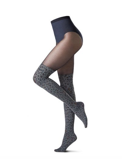 Oroblu Over The Knee Leopard Style Tights