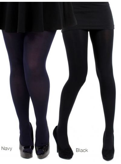 Pamela Mann 120 Denier Opaque Tights - Available M, Xl, XXL & XXXL