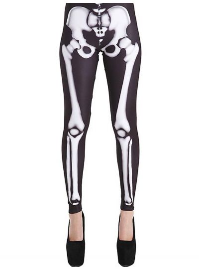 Pamela-Mann-Skeleton-Leggings