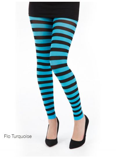 Pamela Mann Twickers Stripe Footless Tights