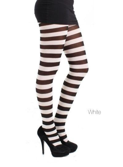Pamela Mann Twickers Stripe Tights - Hosiery Outlet