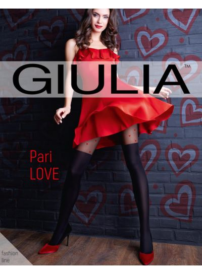 Giulia Pari Love Over The Knee Tights
