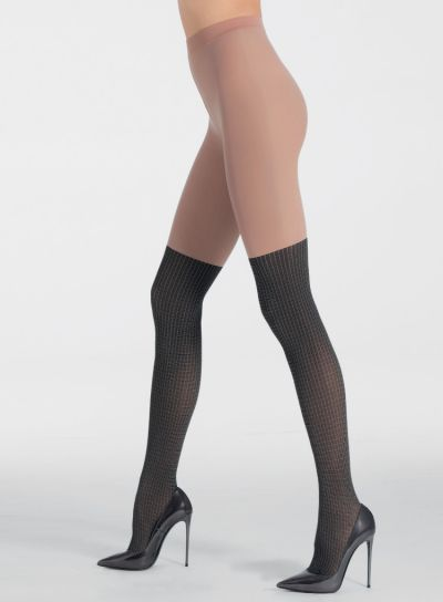 Pierre Mantoux Pia Over The Knee Tights