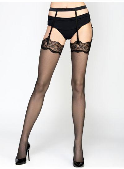 Pierre Mantoux Carine Stockings & Suspender Belt