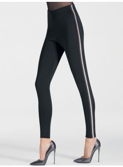 Pierre Mantoux Ines Striped Side Leggings