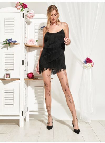 Trasparenze Pistacchio Tattoo Tights
