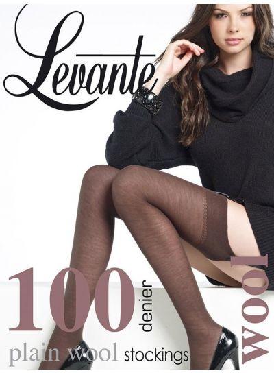 Levante 100 Denier Wool Stockings