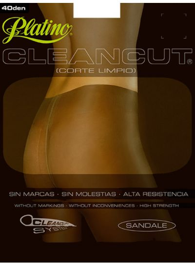 Platino 40 Cleancut Shiny Tights