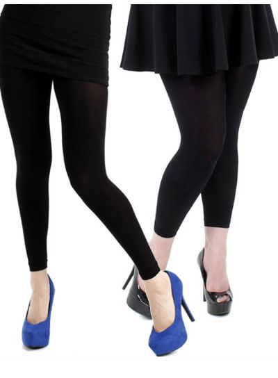 Pamela Mann 200 Denier Footless Tights - Available Medium & XL