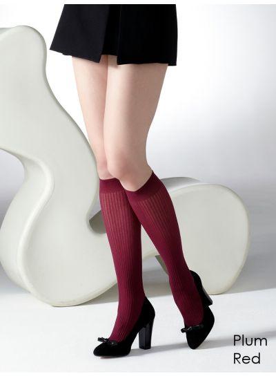 Gipsy-Ribbed-Knee-High-Socks-Plum-Labelled