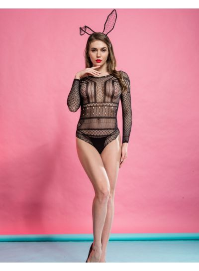 Silky Cindy Rose Bodystocking