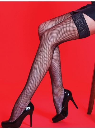 Silky-Scarlet-Lace-Top-Fishnet-Hold-Ups