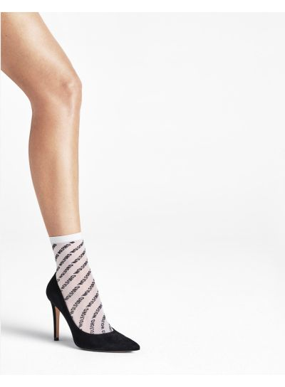 Wolford Logo Ankle High Socks