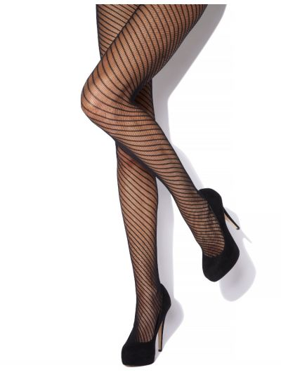 Charnos Spiral Fishnet Tights
