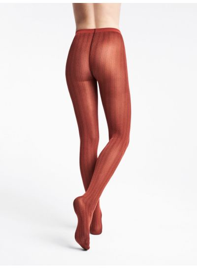 Wolford Striped Snake Patterned Tights