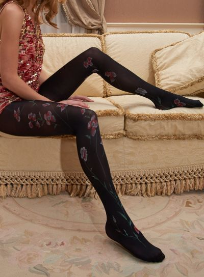 Trasparenze Tolomeo Flower Patterned Tights