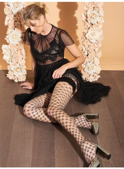 Trasparenze Buttercup Sparkle Hold Ups