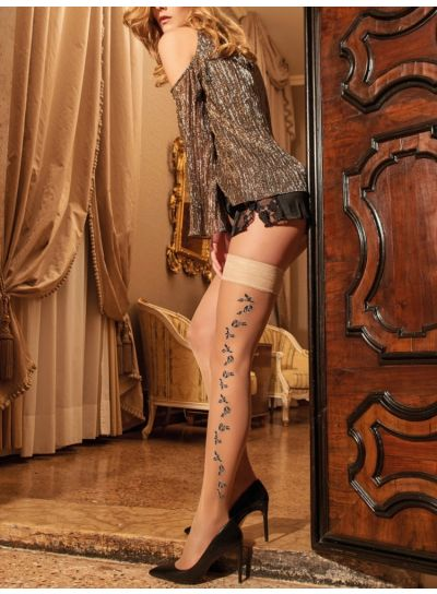 Trasparenze Grandilla Plain Top Hold Ups