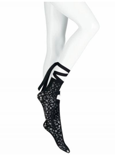 Wolford Amelia Ankle Tie Socks