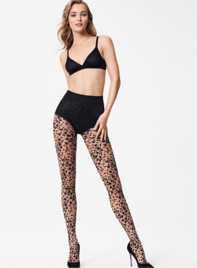 Wolford Amelia Floral Patterned Tights