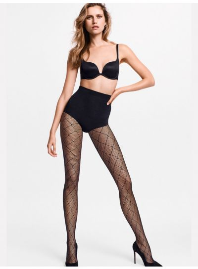 Wolford Chrissie Diamond Net Tights