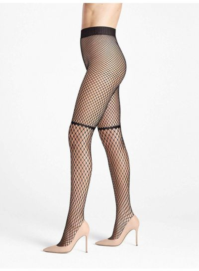 Wolford Early Haze Fishnet Tights