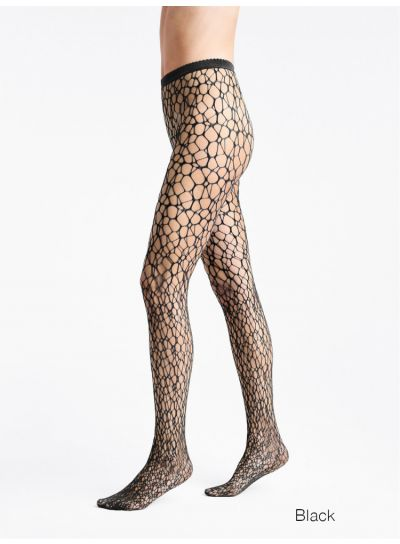 Wolford Micro Fish Scale Fishnet Tights
