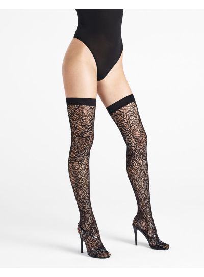 Wolford True Blossom Stay Ups