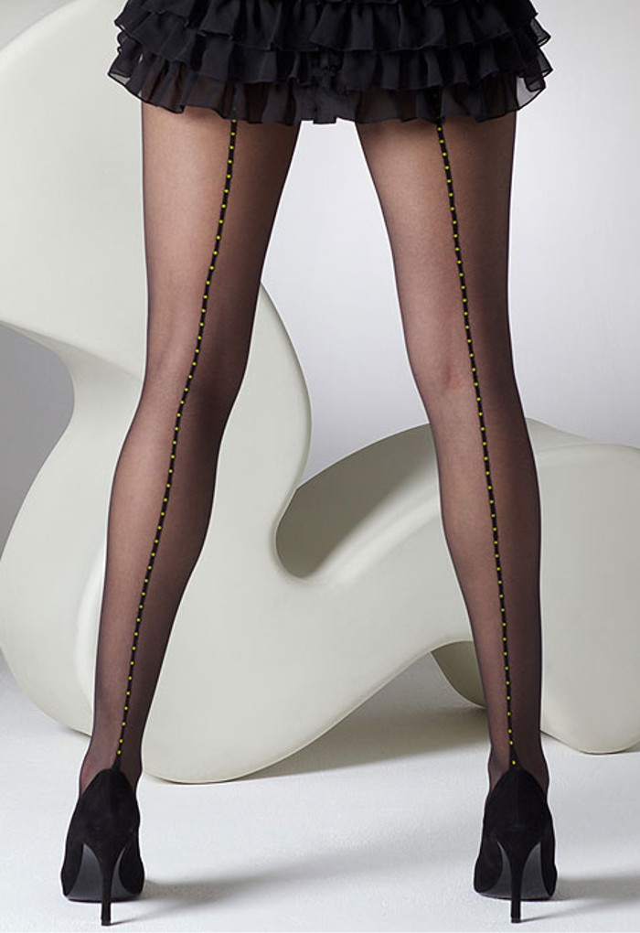 Gipsy Dotty Seam and Heel Tights