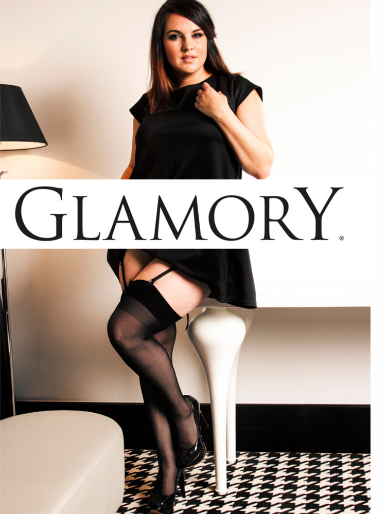 Glamory Perfect 20 Stockings, Plus Size XL-4XL